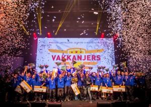 Tijdens de prijsuitreiking – gepresenteerd door Klaas van Kruistum (Wie is de Mol) – werden ook de tickets voor EuroSkills 2016 uitgereikt.