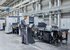 ARKU-Maschinenbau-GmbH---Dreifach-verkettete-Anlage---FlatMaster®-55---EdgeBreaker®-2000---FlatJack®