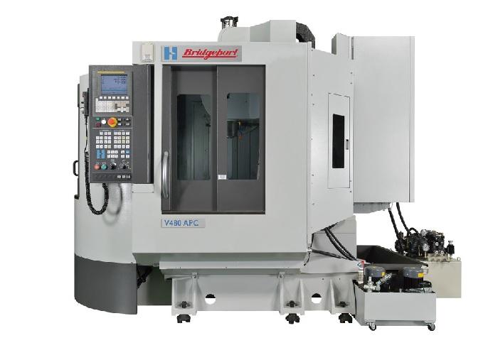 Hardinge|Bridgeport V480-APC met Siemens 828D