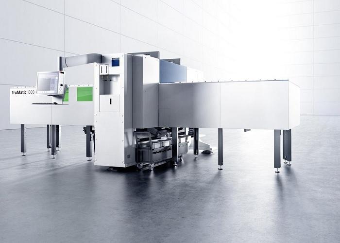 Trumpf pons-/lasermachine TruMatic 1000 fiber.