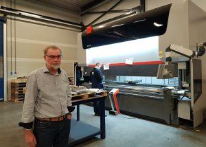 Jan Dunnink, directeur/eigenaar van DMS Metaalbewerking.