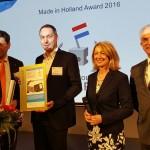 Exner wint Made in Holland Award met robotprogrammeersysteem