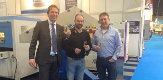 Van links naar rechts: Michel van Heeswijk (directeur Hevami), Wolter Hendriks (projectleider AFT) en Andries Flisijn (directeur AFT).