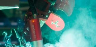 De Arc-eye van Valk Welding, dat het thema robotlassen behandelt