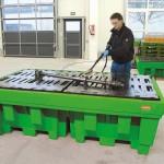 Met de Clean Box Max is het reinigen van grote, omvangrijke of complexe onderdelen eenvoudig en effectief te realiseren.