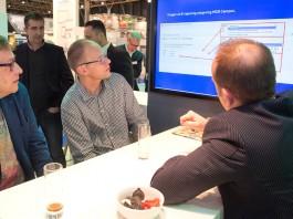 Het volautomatische opslagsysteem is een van de ontwikkelingen bij MCB, gericht op het zo goed mogelijk voldoen aan de eisen van de moderne klant. Het delen van kennis hoort daar ook bij, zoals MCB op de ESEF demonstreerde.