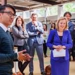 Voordat minister Bussemaker het geactualiseerde Techniekpact in ontvangst nam, bracht ze een werkbezoek aan het Albeda College/Zadkine Techniek & Technologie in Rotterdam. Het werkbezoek vond plaats om kennis te maken met meisjes die een opleiding volgen binnen techniek.