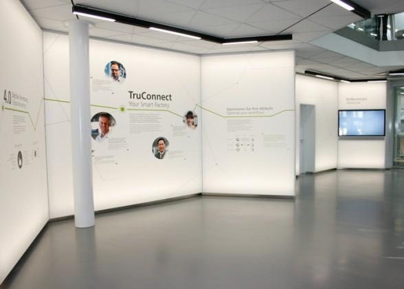 In het TruConnect Forum kunnen op verzoek specifieke oplossingen voor de Smart Factorys van de klanten worden ontwikkeld.