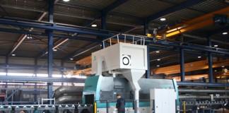 De aangeschafte straalmachine is uitgevoerd met vier turbines met elk 11kW vermogen.