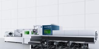 De TruLaser Tube 5000 fiber kent een grote toegankelijkheid, ondanks behuizing die noodzakelijk is met het oog de veiligheid (stralingsgevaar) bij het werken met fiberlasers.