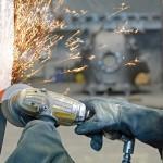 In het GZO hebben voor zware voorbewerkings- en afbraamwerkzaamheden de 4,5 kilowatt sterke GTG-40-turboslijpmachines hun waarde bewezen. (Foto: Atlas Copco Tools)