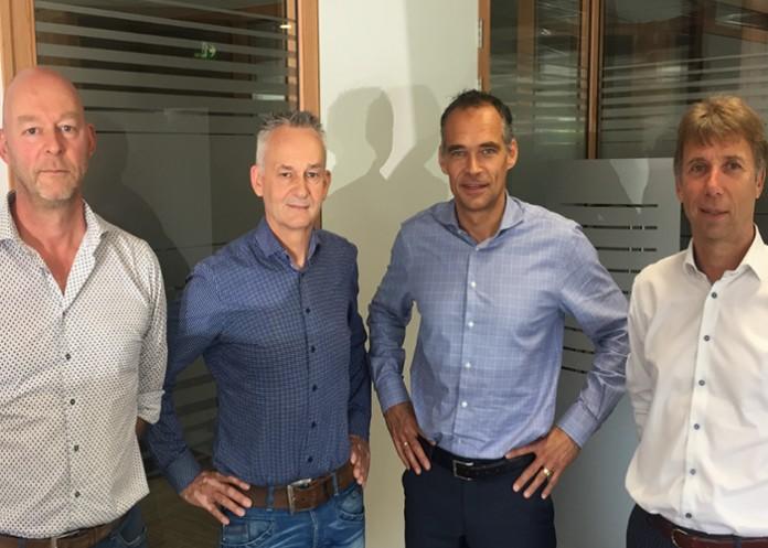 Industrade-Tubeworx-Directeuren-Marc-ter-Horst,-Dieks-Prenger,-Robert-Timmer-en-Leo-van-Diemen