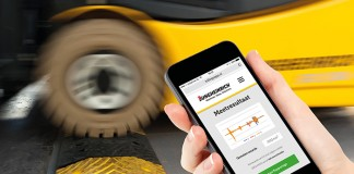 Jungheinrich-trillingsmeting-app