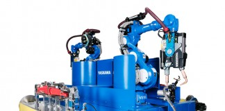 Robotlascel Yaskawa_SpotWelding_H-Table_VS100