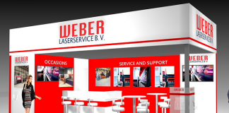 Weber-Laserservice-Stand
