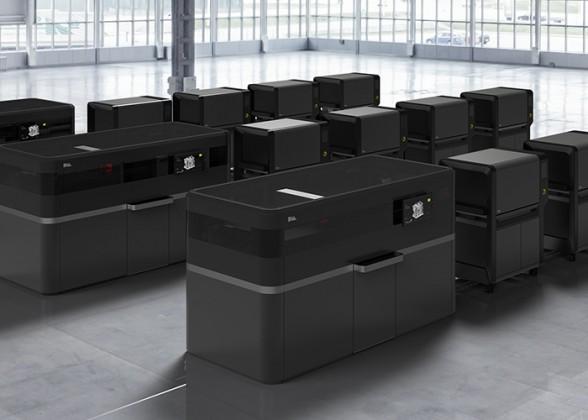 Voor massaproductie van metalen onderdelen introduceert Layertec Desktop Metal Production System, een snelle 3D printer voor metalen onderdelen in hoge resolutie.