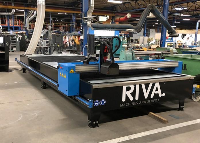 Riva CNC-Plasmasnijmachine