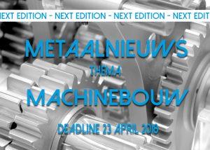 Machinebouw MetaalNieuws