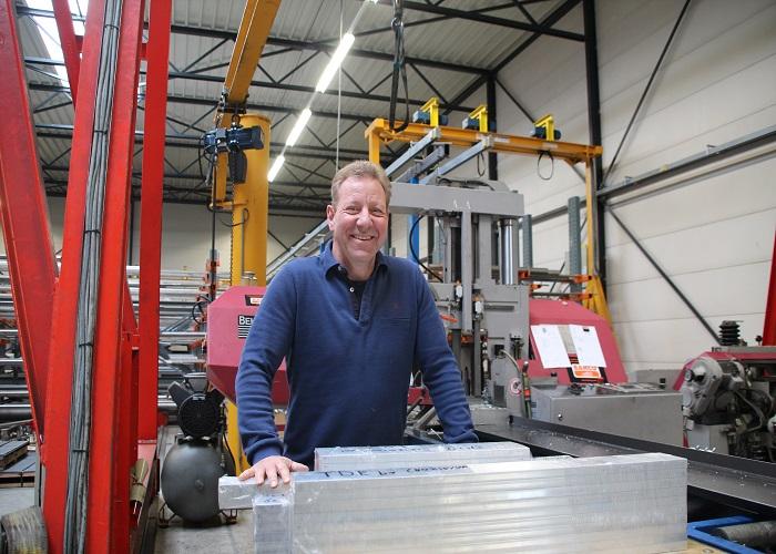 Bedrijfsleider Hans Kuipers van Matrho Metals: