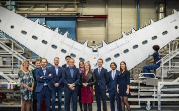 Fokker Technologies werkbezoek