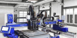 Portaalsnijmachine met nieuwe CNC-besturing