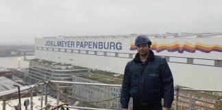 Dany Nedelescu op werkplek