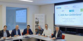 Waterstof project 'Milkrun' van start in Ede