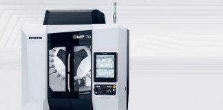 DMG Mori lanceert extreem compacte productiemachine DMP 70