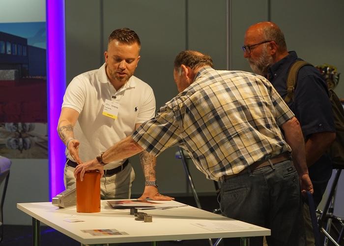 Eurofinish en Materials van grondstof tot gerealiseerd product
