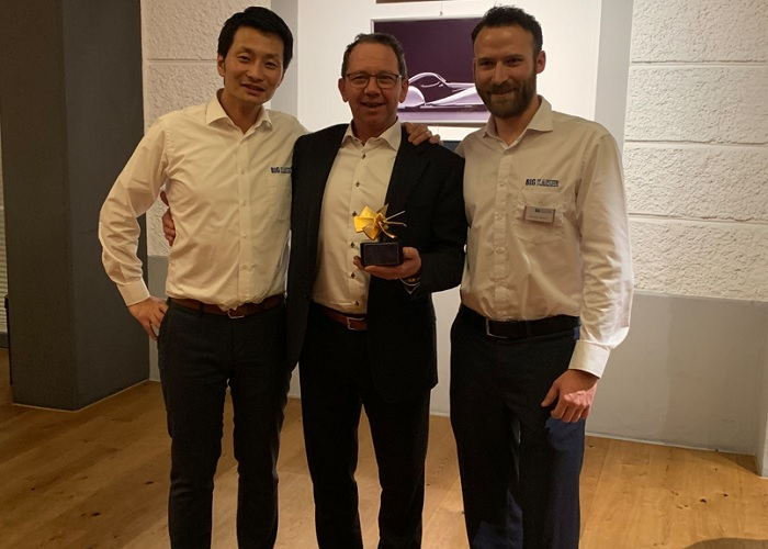 Heku Tools, Jan Herweijer met Big Kaiser Award