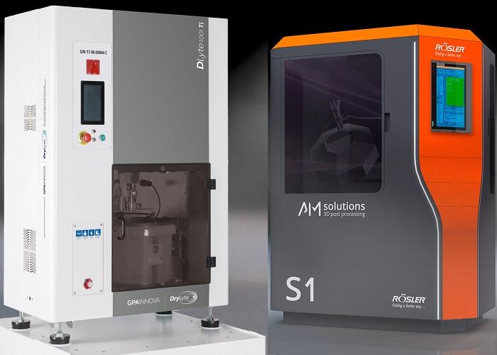 AM solutions van Rösler oplossingen voor geautomatiseerd nabewerken
