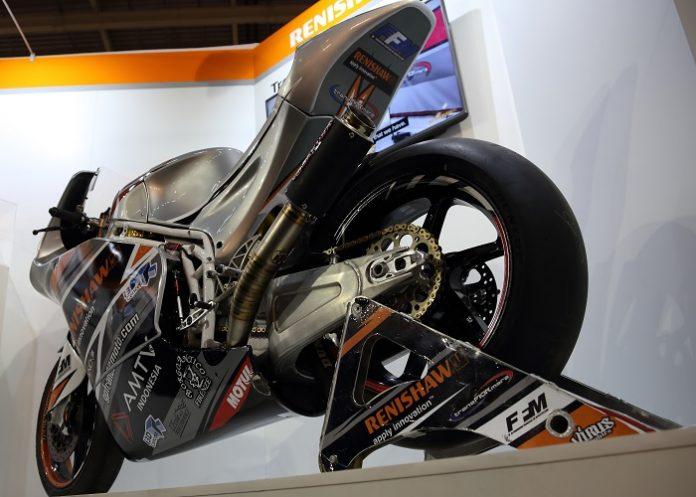 Renishaw schakelt met motorbike naar hoogste versnelling