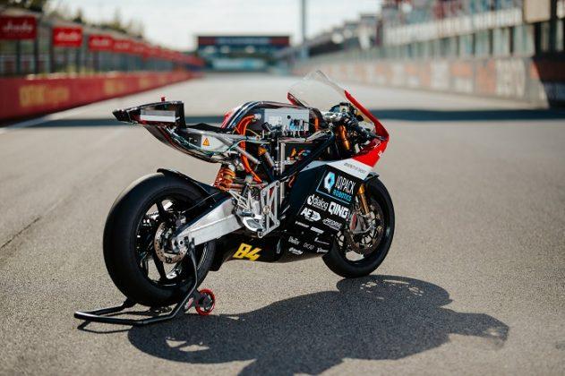 3D geprinte koelschil voor Superbike