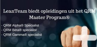 Trainingen QRM Alpha Specialist