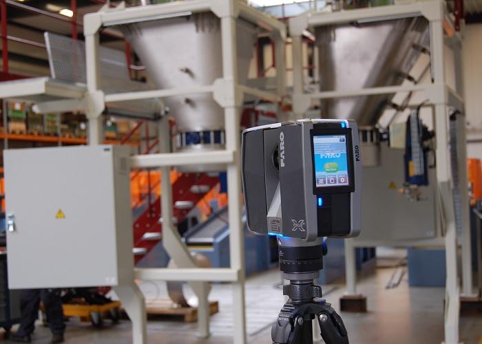 3D-scanner zorgt voor interne logistiek zonder conflicten