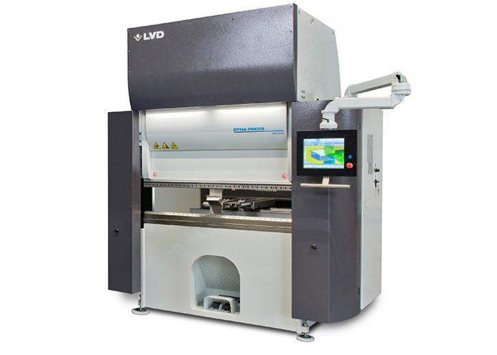 LVD introduceert 'Pro'-model Dyna-Press afkantpers