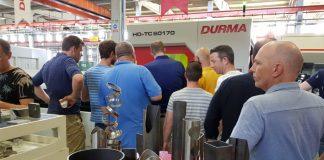 Grote aandacht bij de demo buislasersnijden