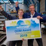 OOM-Awards voor Aru, Jachtwerf Stofberg en LMB