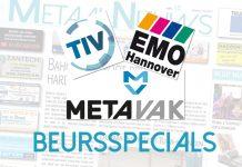 Na de zomervakantie: Beursspecials TIV, EMO en METAVAK