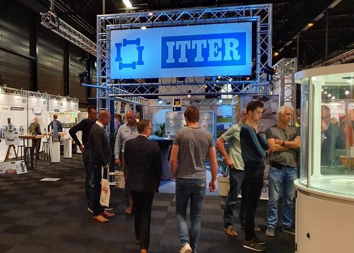 Leden van Innovatie Cluster Drachten, VMO en MEMA brachten een bezoek aan Itter in Hardenberg