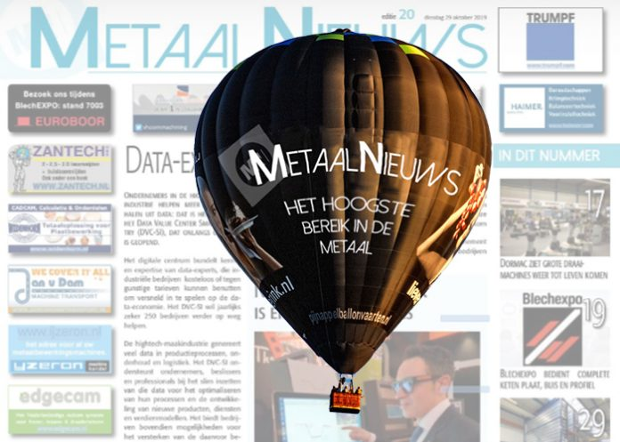 MetaalNieuws 2020 Ballonvaart Adverteren