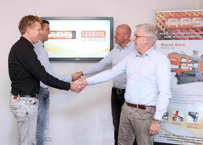 Het doel van de samenwerking tussen Leering Hengelo en APS Europe is om samen projecten in de Benelux markt te realiseren.