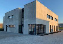 Het nieuwe technologiecentrum biedt behalve 220 vierkante meter kantoorruimte ook vergaderzalen, een Spare Part Center en een showroom van 650 vierkante meter.