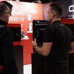 CAD2M met de dddrop 3D-printers op de RapidPro van vorig jaar.