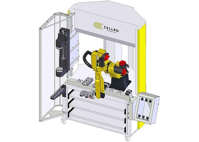 De Xcelerate X20|R-C2 met 6S Complete kan producten aan zes zijdes geautomatiseerd bewerken.