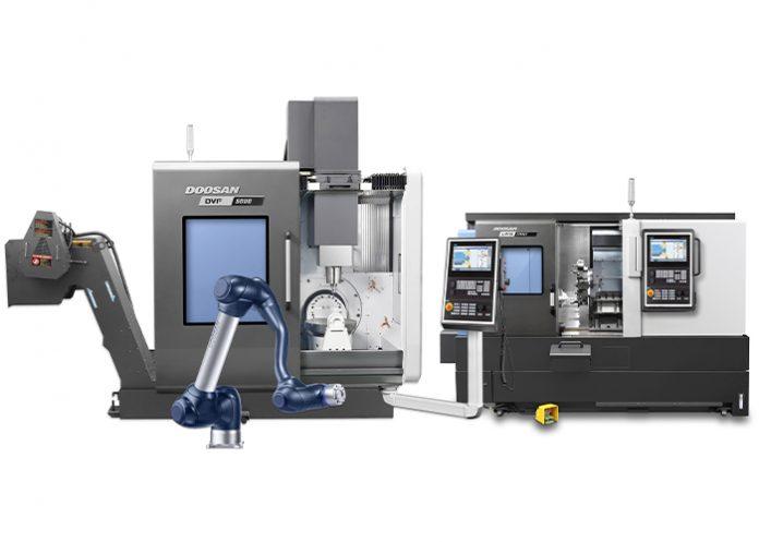 Dormac levert in de zomer een Doosan DVF 5000 5-assige freesmachine, een CNC Lynx 2100LYA draaimachine en een cobot van Doosan Robotics aan Vakopleiding Techniek Cuijk.
