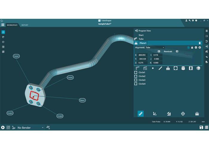 De nieuwe versie van TubeShaper, het platform voor buisontwerp, -analyse en -productie, introduceert nieuwe functies voor klanten in de buizen- en pijpenindustrie.