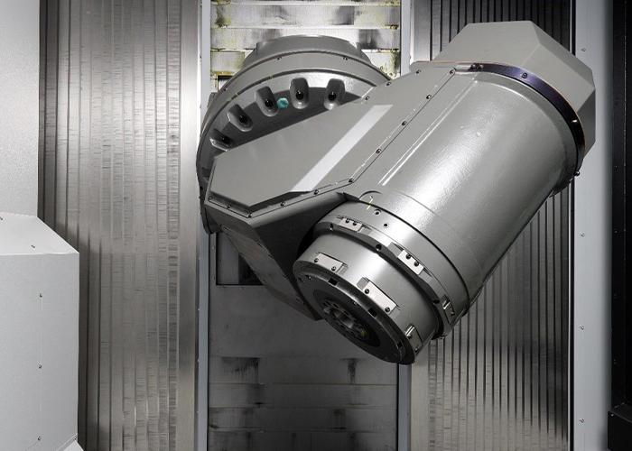 De FH630SX-i 5-assige freesmachine biedt flexibiliteit in de spindelsnelheid van de hoofdspil, zowel voor aluminium als voor titanium.