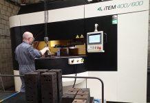 De 400/600 machine kan producten bewerken tot een hoogte van maximaal 600 mm en een diameter van 400 mm. Hiermee kan Nube producten leveren die 100% vrij zijn van inwendige bramen en verontreinigingen.