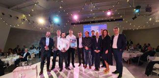 Alle winnaars van de TechniShow Innovation Awards samen op de foto.